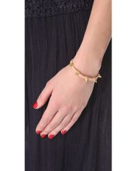 Tai - Natural Studded Woven Bracelet - Lyst