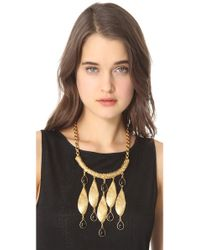 Theodora & Callum - Metallic Seashell Necklace - Lyst