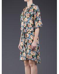Tucker - Multicolor Wide Sleeve Shirtdress - Lyst