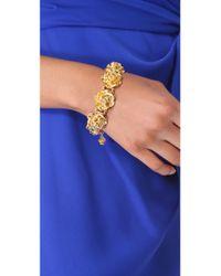 Tuleste | Metallic Rosette Bracelet | Lyst