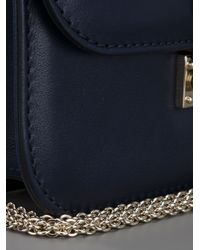 Valentino - Blue Rockstud Shoulder Bag - Lyst