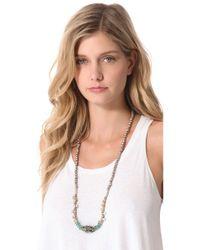Vanessa Mooney - Multicolor The Ocean Sky Necklace - Lyst