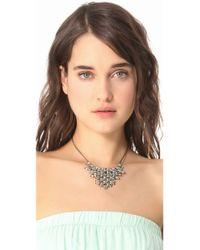 Vanessa Mooney | Metallic Vanguard Necklace | Lyst