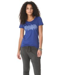 Zoe Karssen - Blue Short Sleeve Bat Tee - Lyst