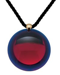 Baccarat | Red Small Eclipse Pendant | Lyst
