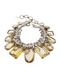 Iradj Moini | Yellow Double Layer Necklace | Lyst
