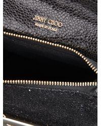 Jimmy Choo - Opal Camo Ziparound Crossbody Bag Blackgunmetal - Lyst