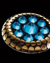 John Hardy - Metallic Dot Round Topaz Ring - Lyst