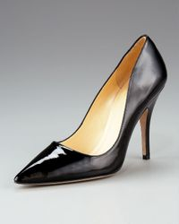 kate spade new york | Gray Licorice Pointed-Toe Pump | Lyst