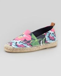 Ralph Lauren - Multicolor Floral Espadrille Navy for Men - Lyst