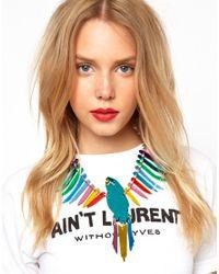 Tatty Devine - Multicolor Large Parakeet Necklace - Lyst