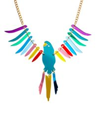 Tatty Devine | Multicolor Large Parakeet Necklace | Lyst