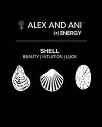 ALEX AND ANI | Metallic Seashell Bangle | Lyst