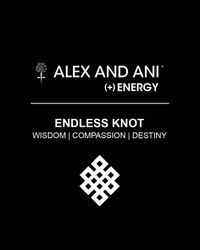 ALEX AND ANI | Metallic Endless Knot Wrap Bangle | Lyst