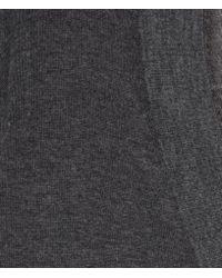AllSaints - Gray Dayton Jumper Dress - Lyst
