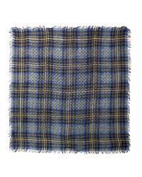 Gucci - Multicolor Check and Logoprint Scarf - Lyst