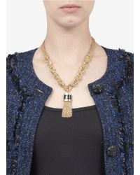 St. John | Metallic Chunky-chain Necklace | Lyst