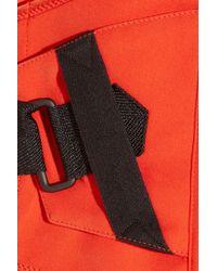 Bottega Veneta - Orange Silk-blend Maxi Dress - Lyst