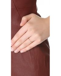Gabriela Artigas - Yellow Double Diamond Ring - Lyst