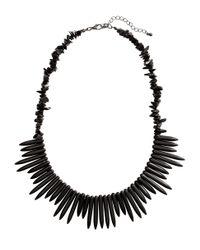 H&M | Black Necklace | Lyst