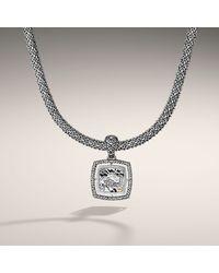John Hardy | Metallic Naga Square-pendant Necklace | Lyst