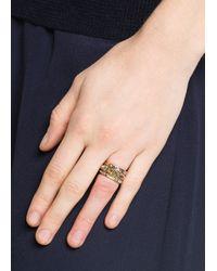 Mango - Metallic Ring A Ninja C - Lyst