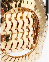 ASOS - Metallic Limited Edition Statement Chain Bracelet for Men - Lyst