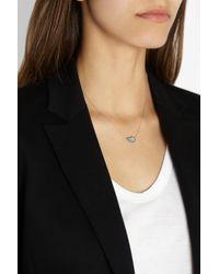 Diane Kordas - Metallic Teardrop 18karat Rose Gold Diamond Necklace - Lyst