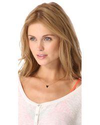 Gorjana | Black Bloom Necklace | Lyst