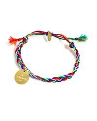 La Mome Bijou | Yellow Rebel Rebel Friendship Bracelet | Lyst