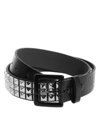 Vans - Black Studded Belt for Men - Lyst