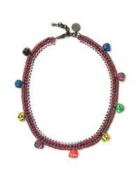 Venessa Arizaga - Multicolor Freak Show Necklace - Lyst