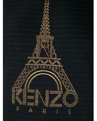 KENZO | Black Eiffel Tower Sweatshirt | Lyst