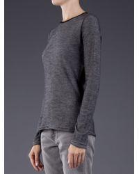 Lucien Pellat Finet | Gray Dog Graphic Tshirt | Lyst
