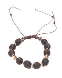 Stones Of Character | Brown Woven Macramã Bracelet for Men | Lyst