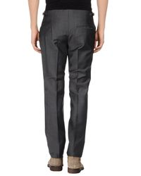 Alexander McQueen - Gray Casual Pants for Men - Lyst