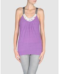 Blend She - Purple Top - Lyst