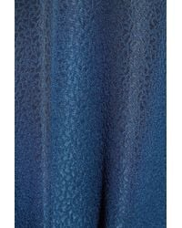 A.P.C. | Blue Silk and Merino Wool Dress | Lyst