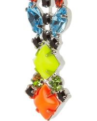 Tom Binns - Multicolor Pendant Crystal Earrings - Lyst
