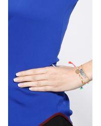 La Mome Bijou | Multicolor 3 Charm Temptation Plait Bracelet | Lyst