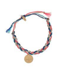La Mome Bijou - Multicolor Rebel Rebel Plaited Bracelet - Lyst