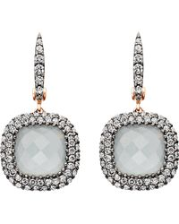 Astley Clarke | Black Grey Aquamarine Connie Earrings - For Women | Lyst