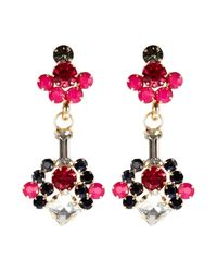 Coast | Pink Rosie Earrings | Lyst
