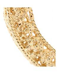 Isharya - Metallic Goldplated Hoop Earrings - Lyst