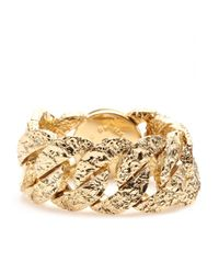 Marc By Marc Jacobs - Metallic Exploded Apocalyptic Turnlock Bracelet - Lyst