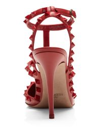 Valentino | Red Rouge Slingback | Lyst