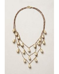 Anthropologie | White Elemental Necklace | Lyst