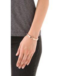CC SKYE | Pink Mini Spike Bracelet | Lyst