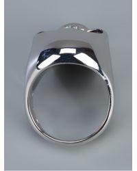 Gavello | Metallic Gold Skull Ring for Men | Lyst
