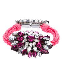 Shourouk - Pink Baraka Sierra Bracelet - Lyst